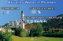 Paragliding Fluggebiet Europa Deutschland Bayern,Breitenberg,Aktuelles Wetter in Pfronten