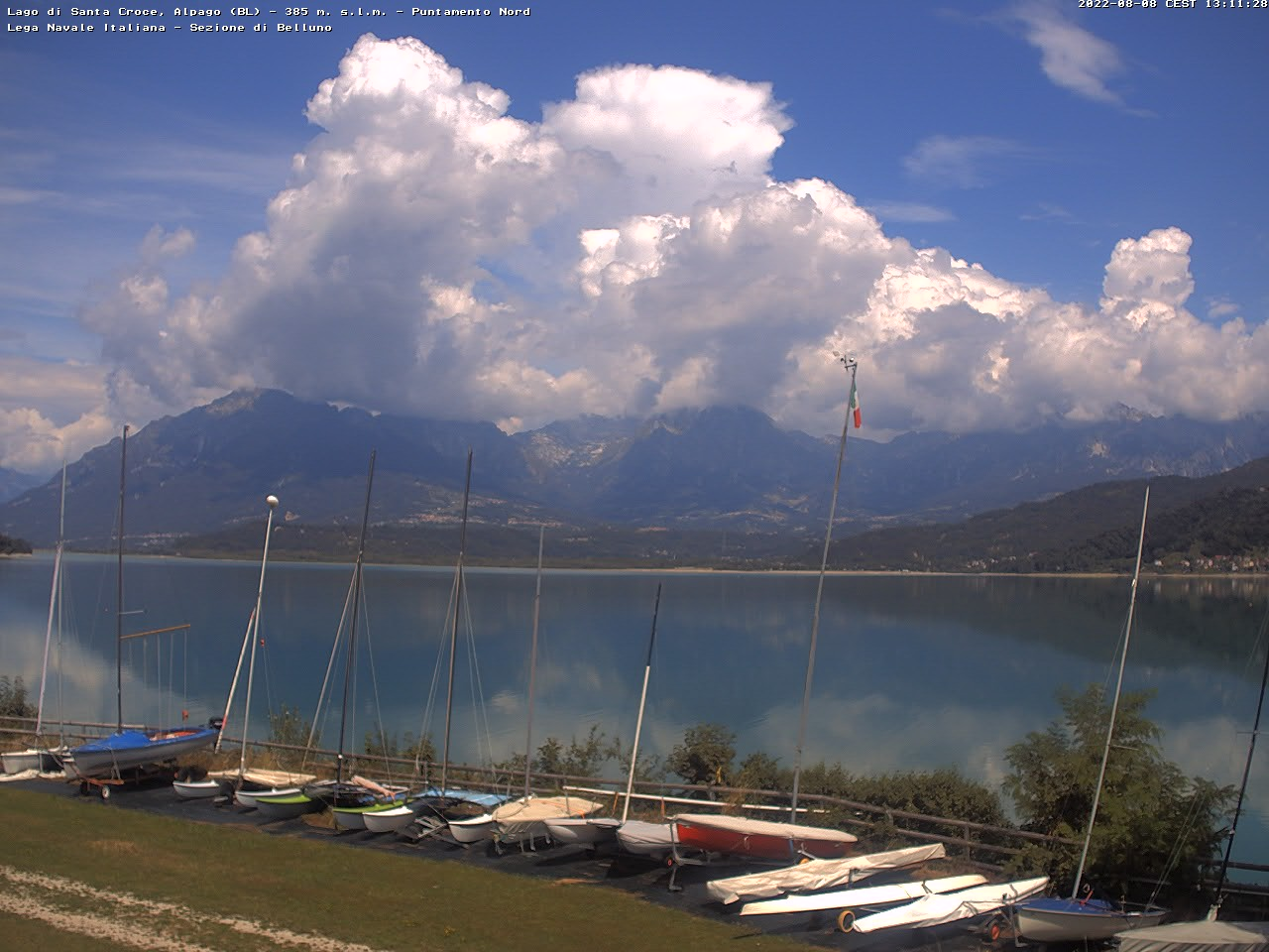 Webcam dalla base di S. Croce: