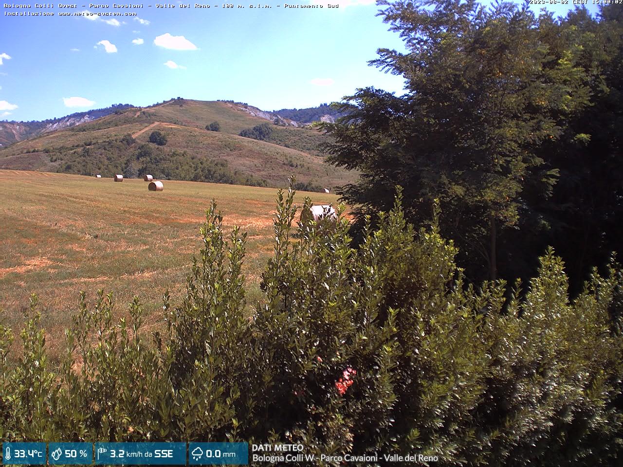 webcam Bologna Colli W - Parco Cavaioni - Valle del Reno (BO)