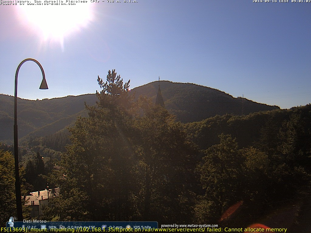 webcam Campotizzoro (PT)