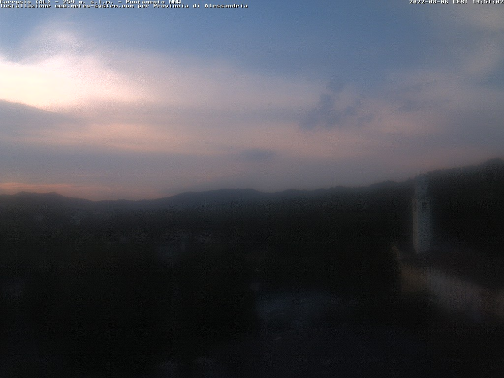 WebCam (dist. 15Km Sud) Carrosio