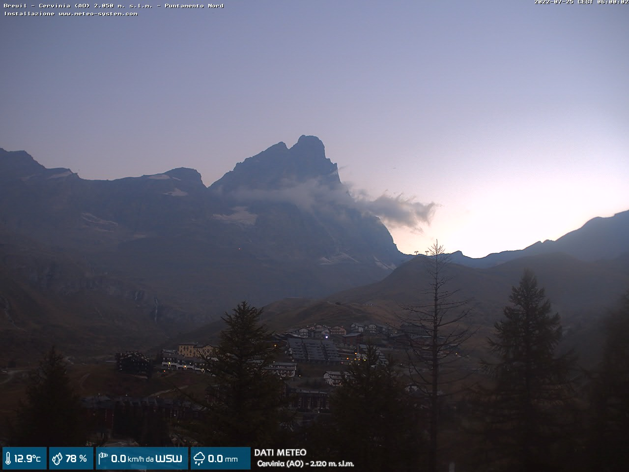 webcam Cervinia (AO)