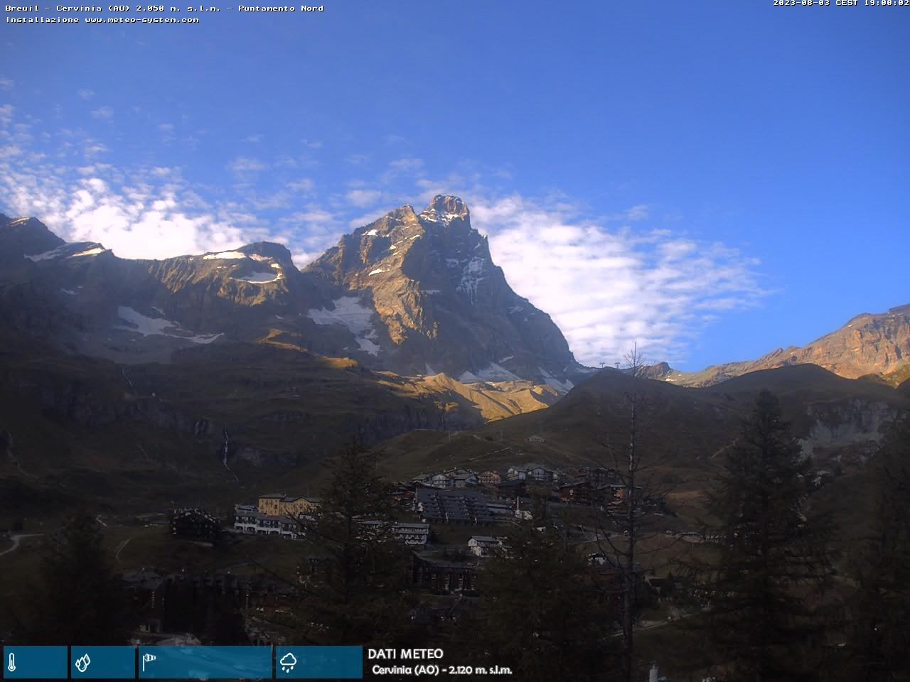 webcam Cervinia (AO)