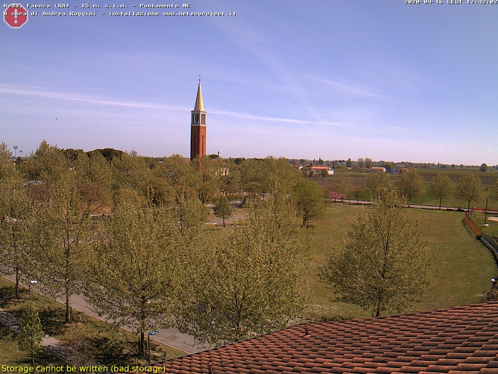 Webcam Faenza nord
