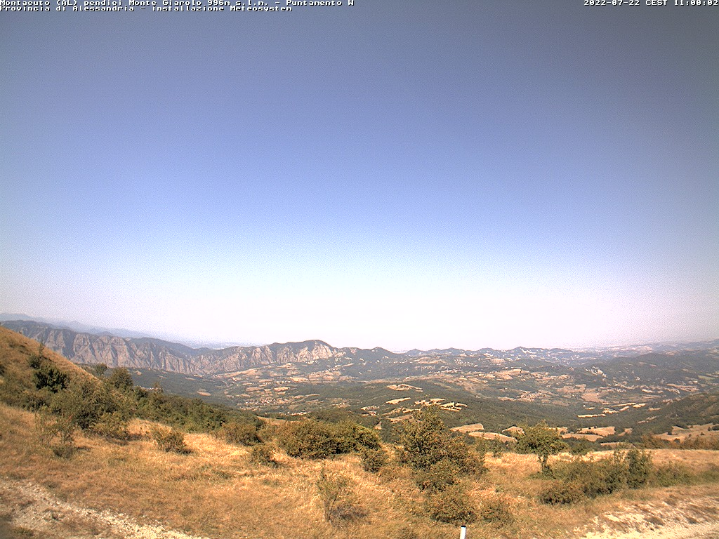 Pendici Monte Giarolo - Monteacuto (AL)