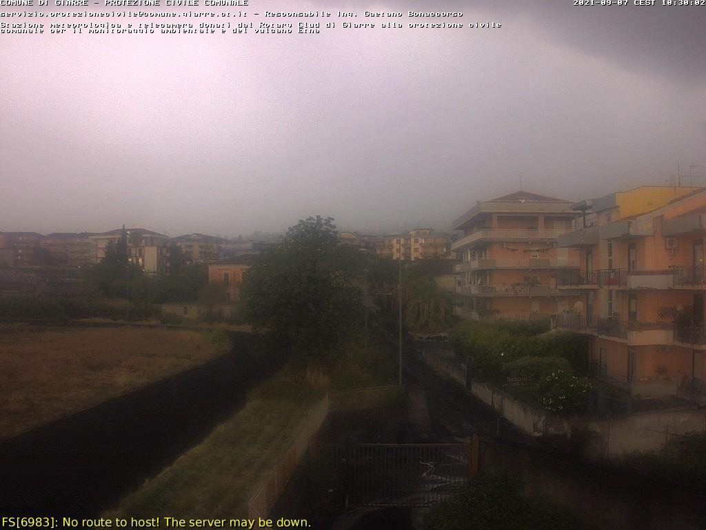 WebCam Meteo Etna Live vista da Giarre