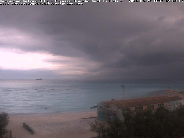 webcam spiagge bianche ore7
