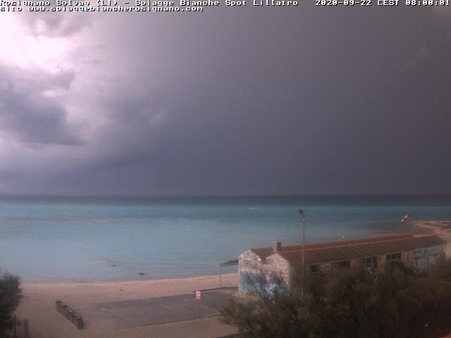 webcam spiagge bianche ore8