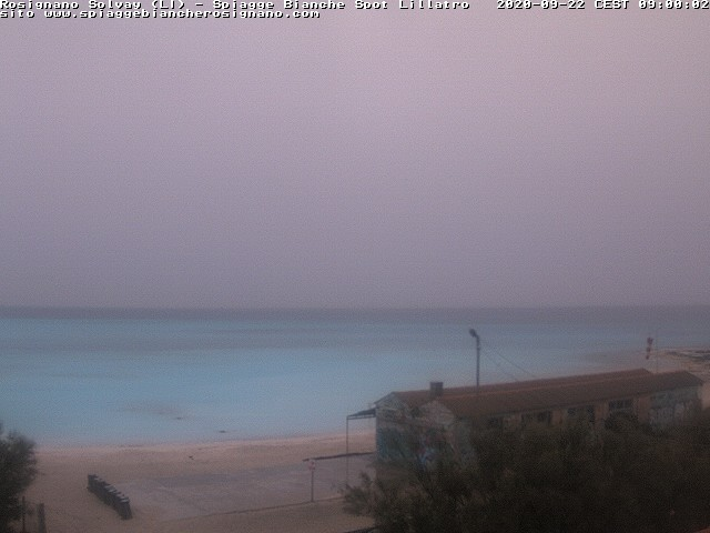 webcam spiagge bianche ore9