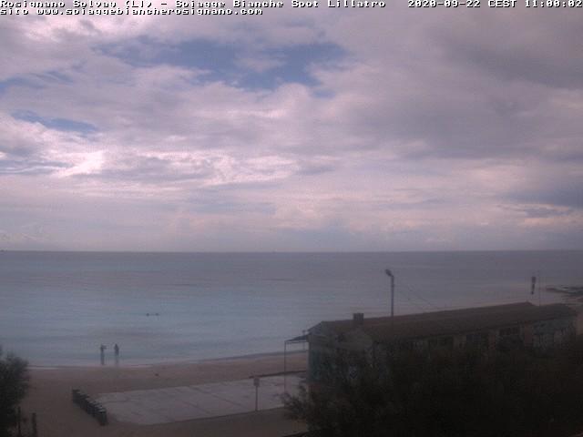 webcam spiagge bianche ore11