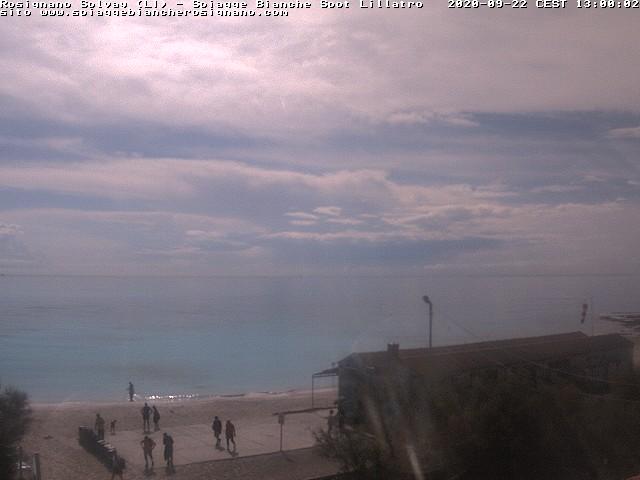 webcam spiagge bianche ore13