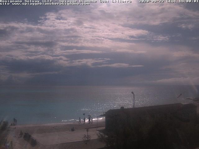 webcam spiagge bianche ore14