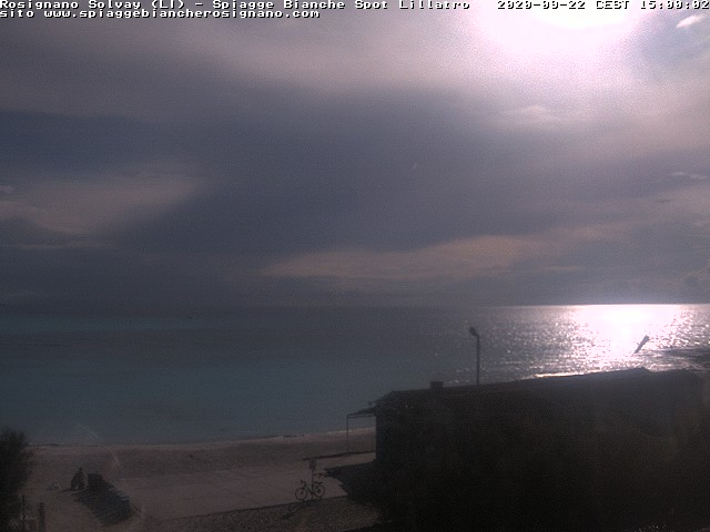 webcam spiagge bianche ore15