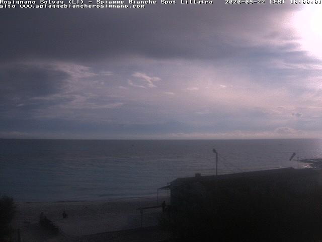 webcam spiagge bianche ore16