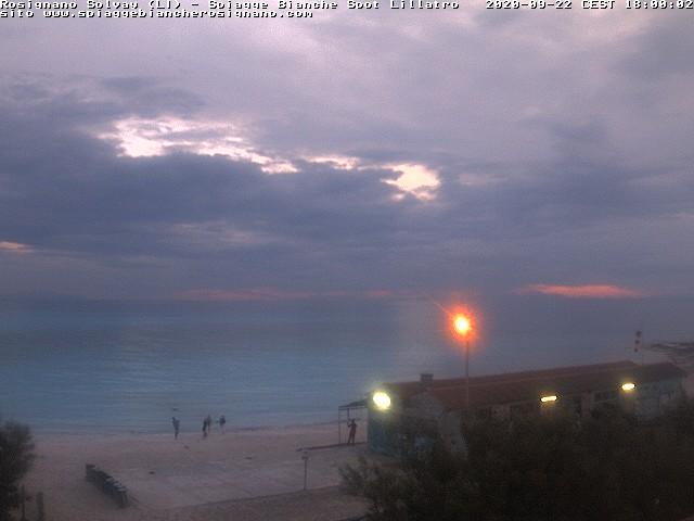 webcam spiagge bianche ore18