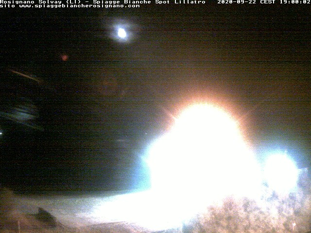 webcam spiagge bianche ore19
