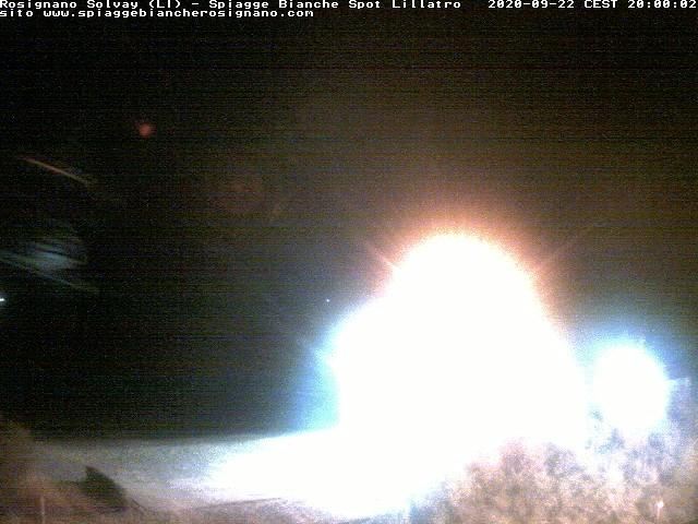 webcam spiagge bianche ore20