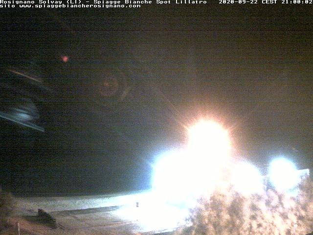 webcam spiagge bianche ore21