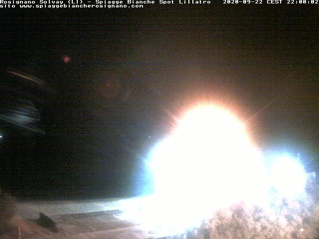 webcam spiagge bianche ore22