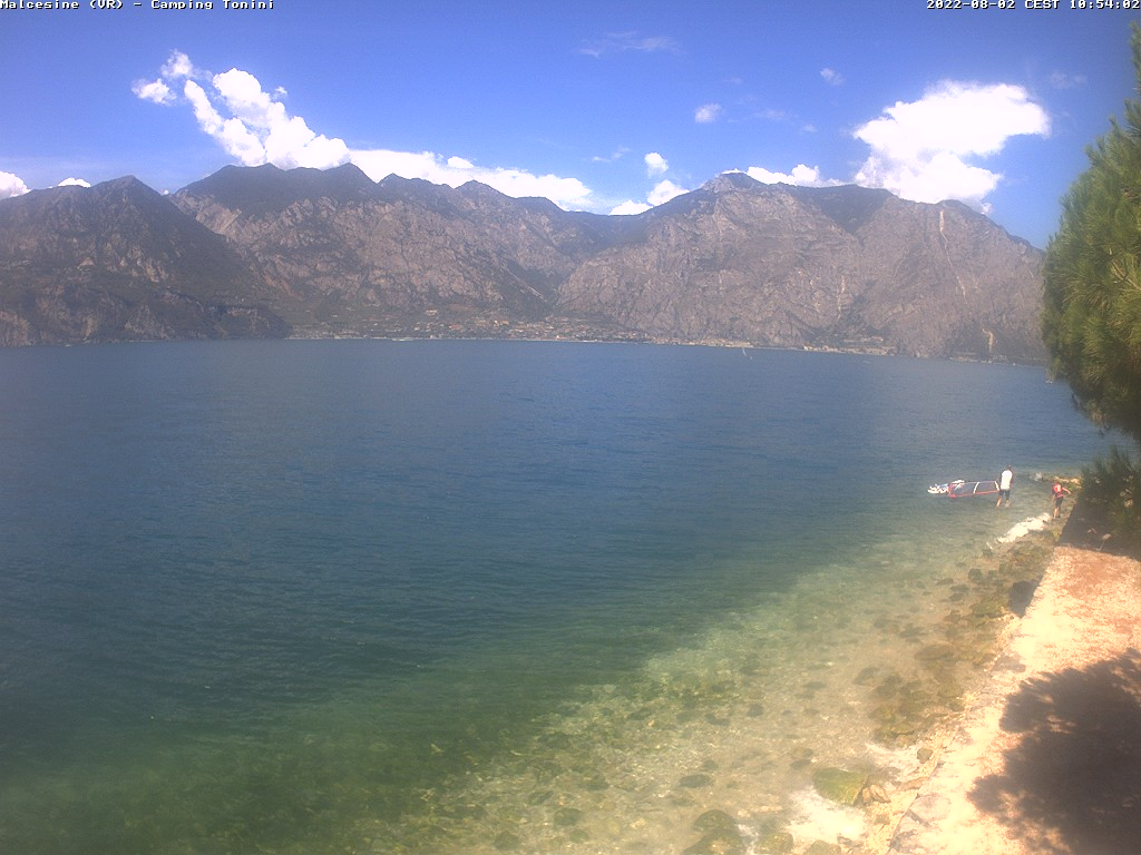 Webcam am Gardasee in Malcesine