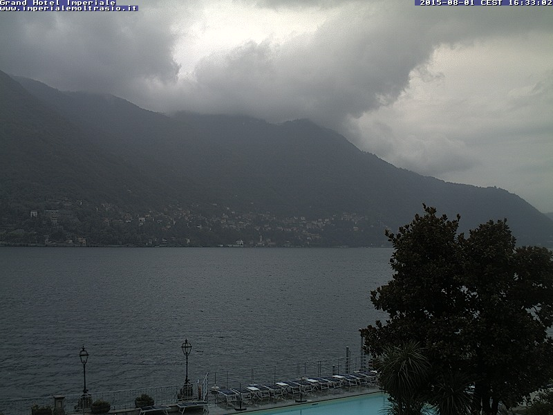 Moltrasio webcam - Grand Hotel Imperiale webcam, Lombardy, Como