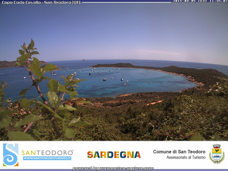 Webcam meteo San Teodoro
