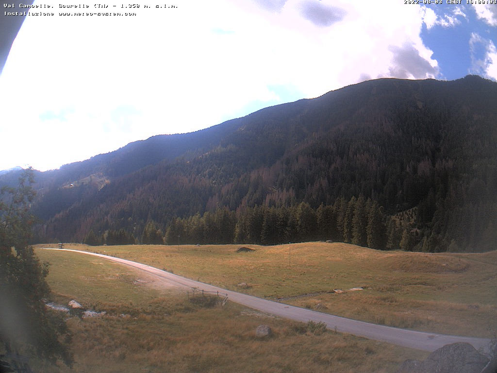 webcam Val Campelle (TN)