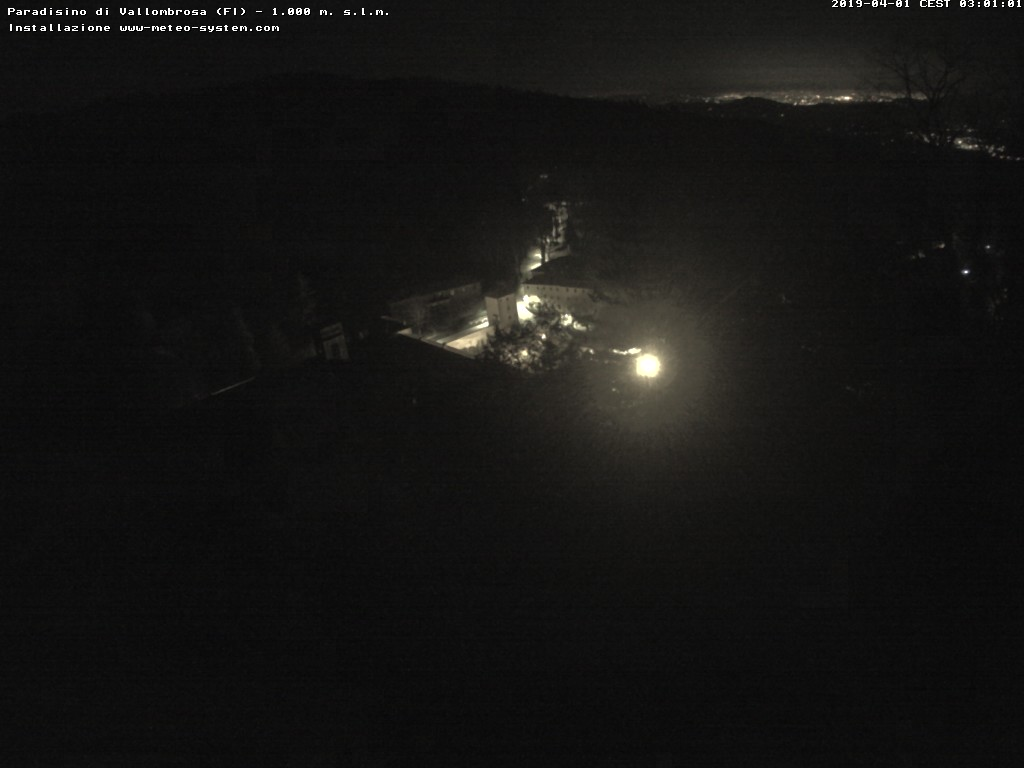 webcam Centro didattico PARADISINO, Vallombrosa -Reggello - Università di FIRENZE