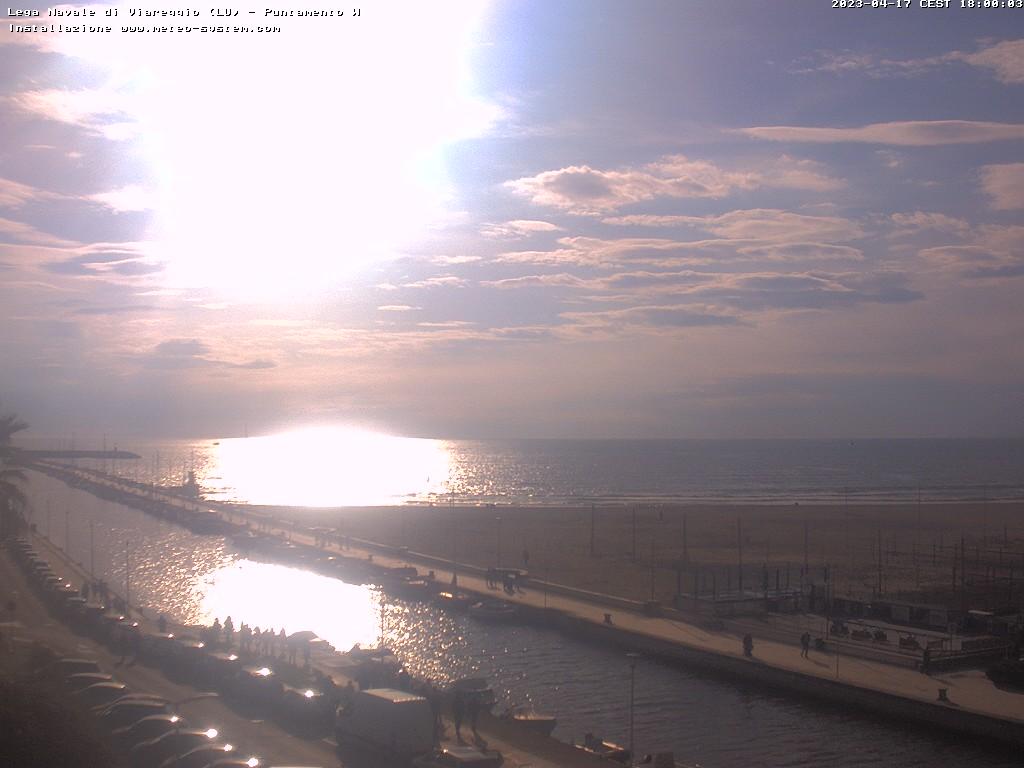 webcam Lega Navale di Viareggio (LU)