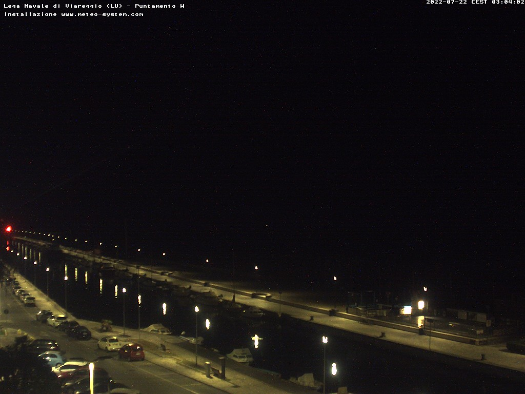 webcam lido di camaiore
