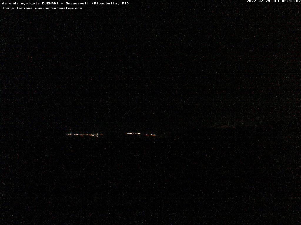 Panorama Riparbella - vista mare