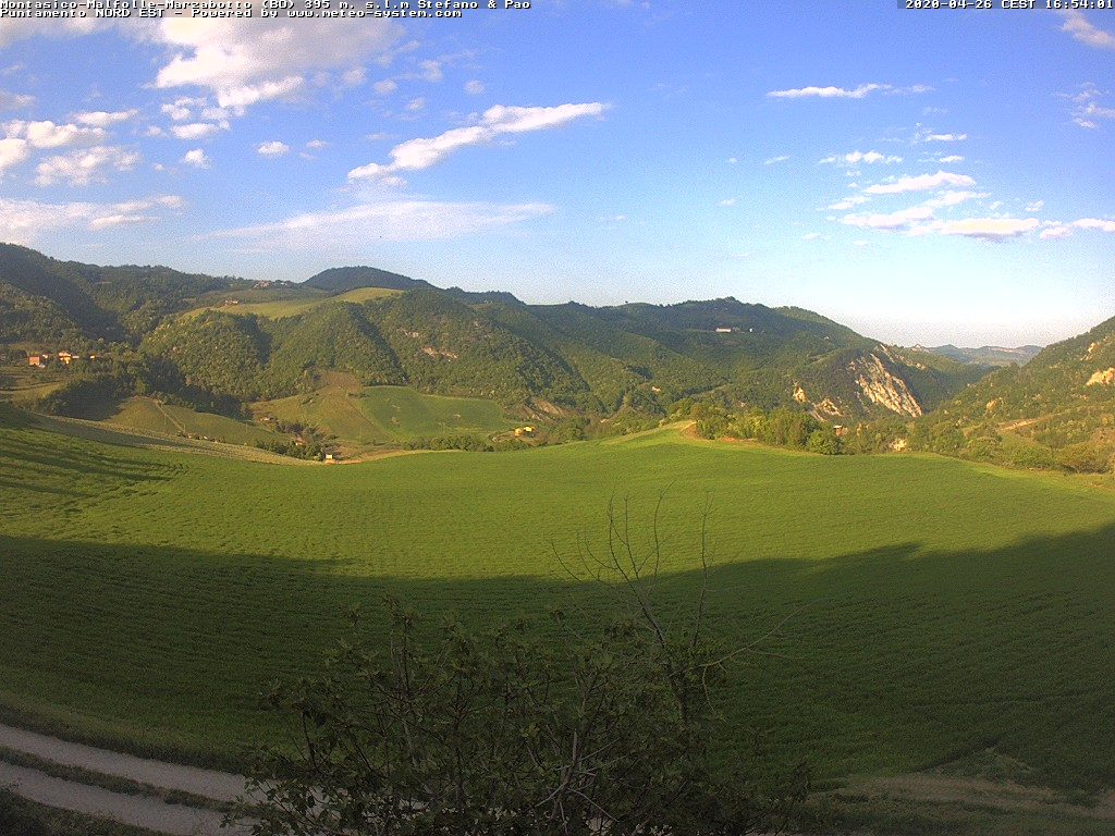 Webcam Montasico - Marzabotto (BO) - 395 m. slm